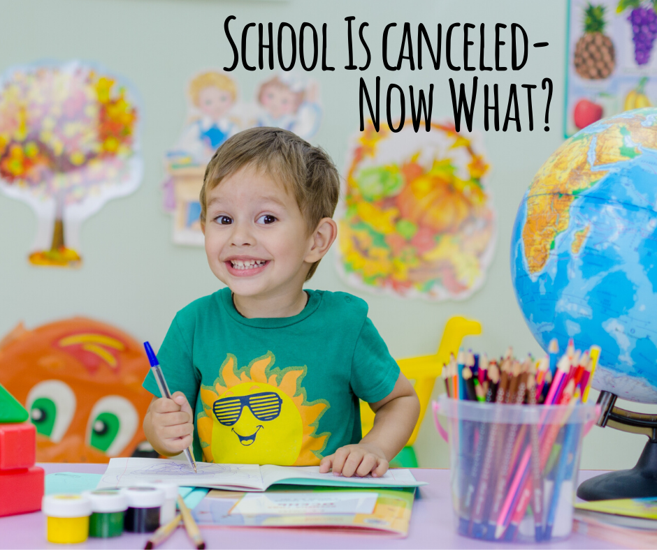School Is cancelled-Now What_